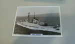 1975 HMS Ardent frigate warship framed picture @sold@